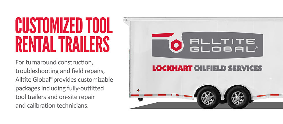 Customized Tool Rental Trailer